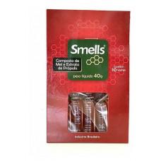 Sachê Composto de Mel e Extrato de Própolis Smells - 40g - (10 unidades)