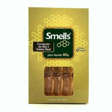 Sachê Composto de Mel e Geleia Real Smells 40g - (10 unidades)