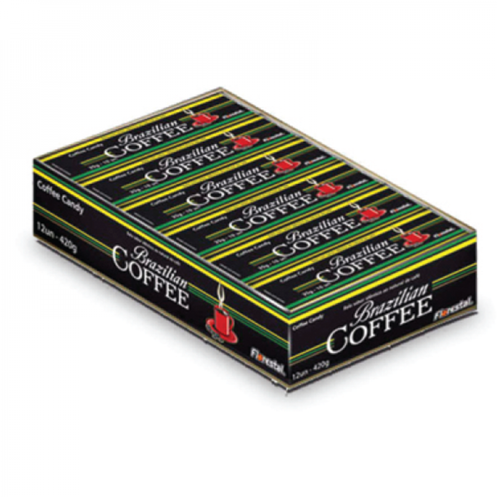 BALA DROPS BRAZILIAN COFFEE 10UNX30G DY