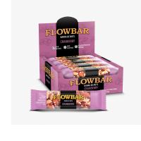 Barra de nuts flowbar cranberry 30g caixa com 12