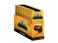 Chocolate em Barra HOLLANDER 65 porc Cacau com Raspas de Laranja - 10 unid/90gr