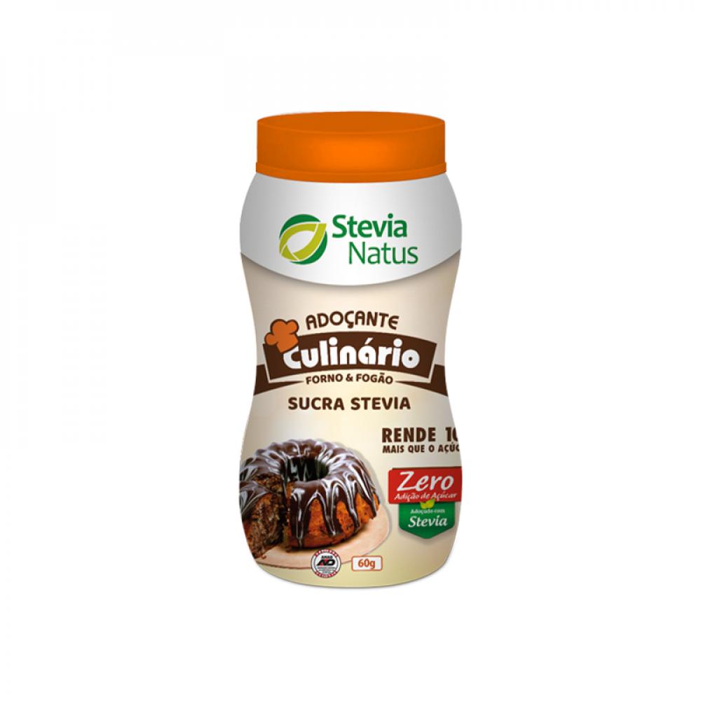 2 Adoçante Culinário Sucra Stevia Pote 60 g